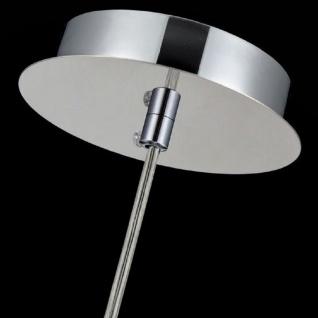 Casa Padrino Hängeleuchte Silber Ø 30 x H. 28 cm - Hängelampe mit rundem Lampenschirm und feinsten Kristall Behängen - Vorschau 4