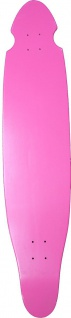 MySkateBrand Kicktail Longboard Deck Pink 43.0 x 9.0 inch - 1B Ware mit Kratzern