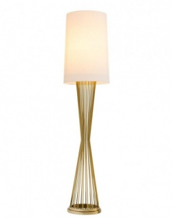 Casa Padrino Luxus Stehleuchte Gold - Luxus Hotel Restaurant Leuchte