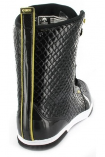 Osiris Uptown Ltd Ltd Ltd Girls Boot Black/Gold/Quilted - Snowboard Boots Stiefel Skateboard Schuhe 8f821c