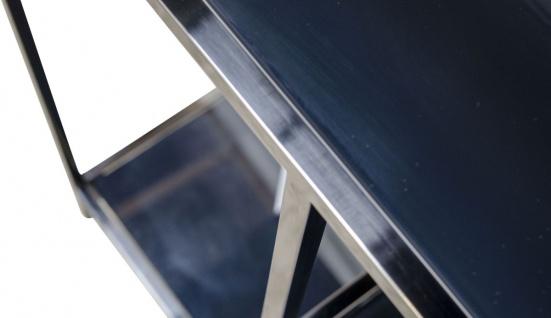 Casa Padrino Luxus Wohnzimmerschrank 98 x 35 x H. 210 cm - Designer Wohnzmimmermöbel - Vorschau 5