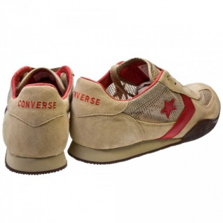 Converse Schuhe Targa OX Khaki/Red/Choc Trainers Skateboard Shoes Sneaker Sneakers - Vorschau 4