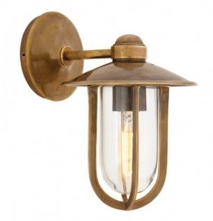 Casa Padrino Luxus Wandleuchte Messing - Luxus Leuchte