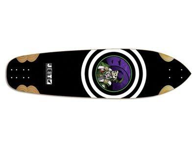 Jet Skateboard Longboard Vulcan Jet Pilot Longboard Deck 10 x 38