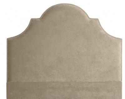 Casa Padrino Designer Bett-Kopfteil Greige 180 x H. 150 cm - Schlafzimmermöbel - Vorschau 1