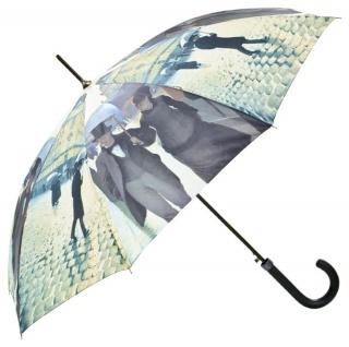 MySchirm Designer Regenschirm passend fürs Regenwetter - Eleganter Stockschirm - Luxus Design - Automatikschirm