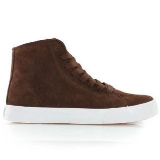SUPRA Skateboard Styler Schuhe Thunder High Brown Suede