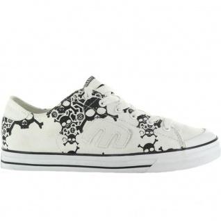 Etnies Skateboard Schuhe Bernie SMU Black/White
