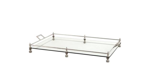 Casa Padrino Luxus Designer Tablett 67 x 40 x H. 8, 5 cm - Hotel Kollektion