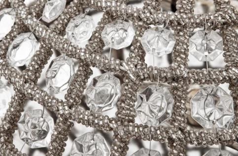 Casa Padrino Luxus Deckenleuchte Nickel Durchmesser 45 x H 37 cm Antik Stil - Möbel Lüster Deckenlampe - Vorschau 5