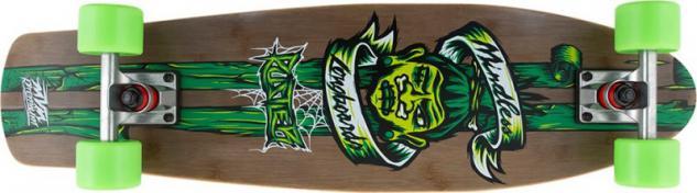 Mindless Voodoo Complete Longboard Rustler Green Komplettboard Komplett mit Koston Kugellagern