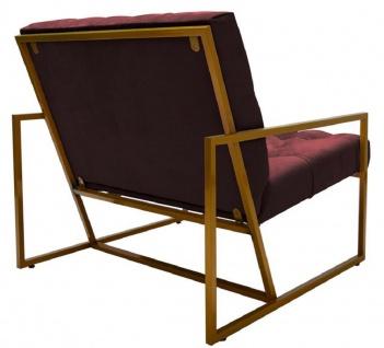 Casa Padrino Luxus Chesterfield Sessel 84 x 87, 5 x H. 80 cm - Verschiedene Farben - Chesterfield Möbel - Vorschau 4
