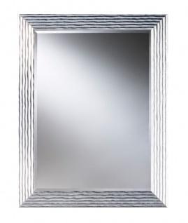 Casa Padrino Luxus Wohnzimmer Spiegel Silber 86 x H. 111 cm - Designermöbel