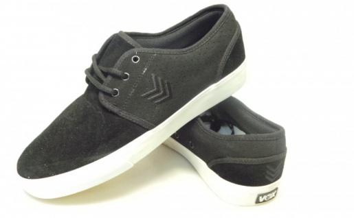 Vox Skateboard Schuhe Slacker Schwarz/Gold/Weiß
