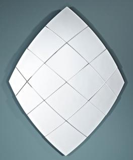 Casa Padrino Designer Spiegel im Diamanten Design 97 x H. 125 cm - Luxus Kollektion