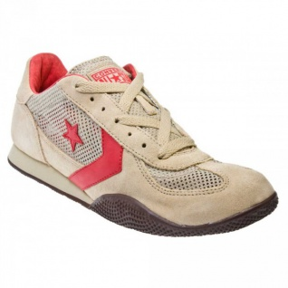 Converse Schuhe Targa OX Khaki/Red/Choc Trainers Skateboard Shoes Sneaker Sneakers - Vorschau 2