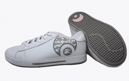 Osiris Skateboard Schuhe Serve Icon Girls White/Grey/Camo