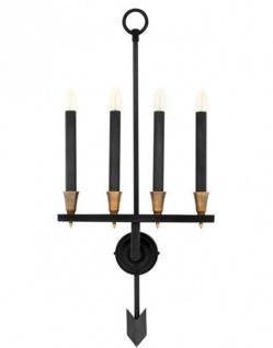 Casa Padrino Luxus Wandleuchte - Luxus Leuchte - Vorschau 4
