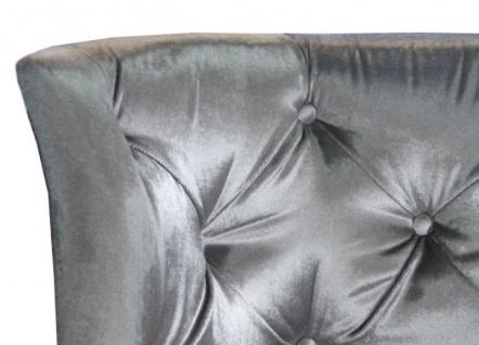 Casa Padrino Barock Salon Stuhl Grey - Designer Sessel - Luxus Qualität GH - Vorschau 3
