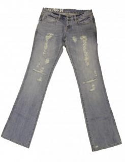 Hurley Skateboard Damen Jeans 81 Skinny Sky Blue
