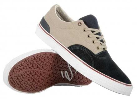 ES Footwear Footwear ES Skateboard Schuhe Manderson Navy/Grau 886d04