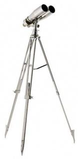 Casa Padrino Designer Doppelteleskop 65 x 65 x H. 195 cm - Luxus Kollektion