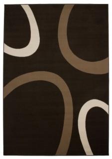 Casa Padrino Design Teppich Kaffee Braun - Designer Teppich