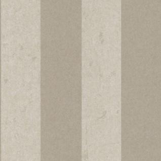 Casa Padrino Barock Vliestapete Beige 10, 05 x 0, 53 m - Tapete mit Streifen - Deko Accessoires