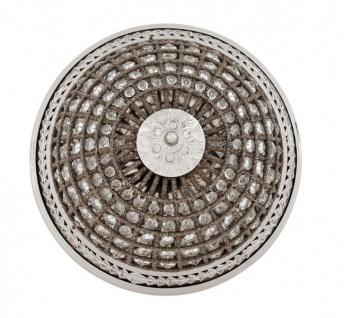Casa Padrino Luxus Deckenleuchte Nickel Durchmesser 45 x H 37 cm Antik Stil - Möbel Lüster Deckenlampe - Vorschau 3