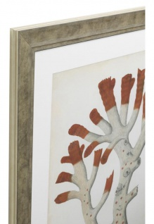 Casa Padrino Bilder / Kunstdruck 6er Set Korallen Antik Rot / Antik Silber 57, 5 x H. 68 cm - Luxus Deko - Vorschau 2