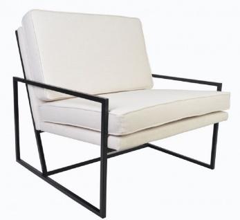 Casa Padrino Luxus Sessel 84 x 87, 5 x H. 80 cm - Verschiedene Farben - Wohnzimmer Hotel Büro Club Sessel - Luxus Kollektion - Vorschau 2