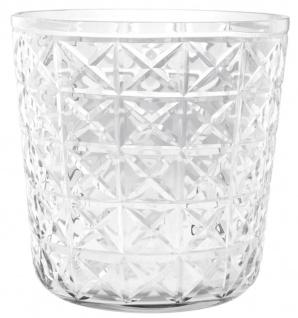 Casa Padrino Glas Weinkühler 23 x H. 23 cm - Luxus Restaurant Kollektion