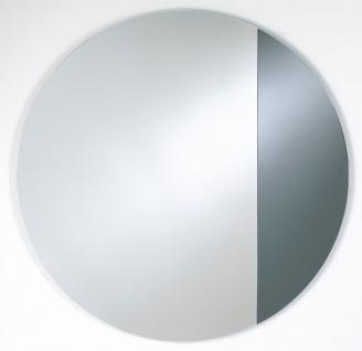 Casa Padrino Luxus Spiegel Rauchgrau 96 x H. 96 cm - Designermöbel & Accessoires