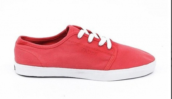 Fallen Skateboard Schuhe The Slim Bright/Red