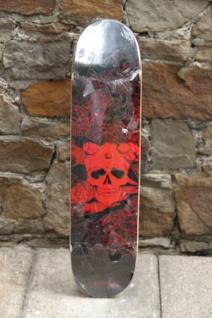 Koston Skateboard Deck Noon Schwarz / Rot 7.75 x 31.75 inch - Lagerware mit leichten Kratzern