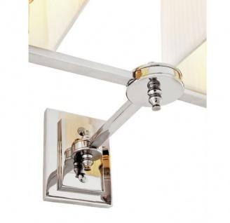 Casa Padrino Luxus Wandleuchte Nickel - Luxus Leuchte - Vorschau 4