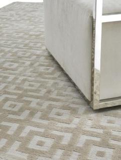 Luxus Teppich casa padrino luxus teppich elfenbeinfarben 170 x 240 cm