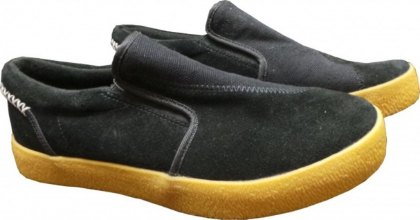 I-Path Skateboard Schuhe Slipe Black Slip On Ons Slipper