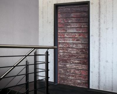 Tür 2.0 XXL Wallpaper für Türen 20006 Alm - selbstklebend- Blickfang für Ihr zu Hause - Tür Aufkleber Tapete Fototapete FotoTür 2.0 XXL Vintage Antik Stil Retro Wallpaper Fototapete - Vorschau 1