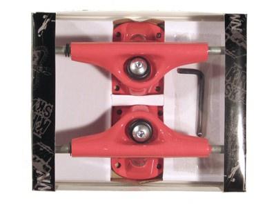 Krown Skateboard Achsen Set 5.0 rot (2 Achsen)