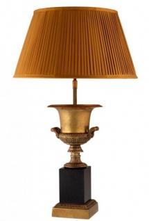 Casa Padrino Luxus Tischleuchte Messing - Luxus Hotel Leuchte