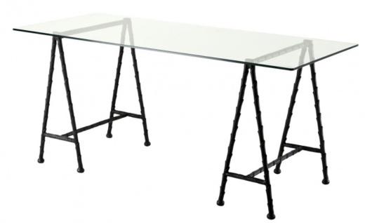 Casa Padrino Luxus Schreibtisch 170 x 80 x H. 77 cm - Luxus Qualität