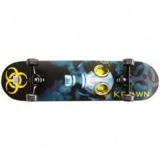 Krown Pro Biohazard Logo Komplettboard Skateboard 8.0 inch