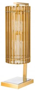 Casa Padrino Luxus Tischleuchte Gold 23 x 16, 5 x H. 66 cm - Limited Edition - Vorschau 2