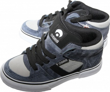 Osiris Skateboard Schuhe Chino Kids Blue/Grey/Black