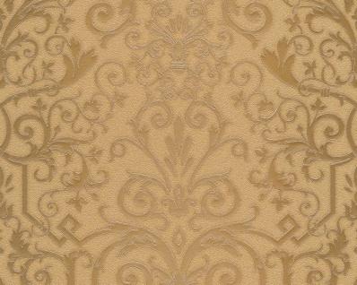 Versace Designer Barock Tapete Home Collection 935453 Jugendstil Vliestapete Vlies Tapete Barockmuster Gold
