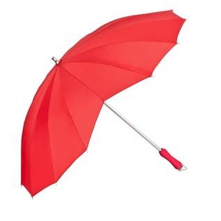 """MySchirm Designer Regenschirm, Motivschirm """" Herz"""" in Rot Model Paris - Eleganter Stockschirm - Vorschau 1"""