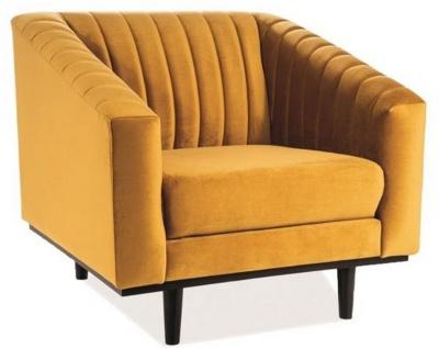 Casa Padrino Luxus Samt Sessel 83 x 85 x H. 78 cm - Verschiedene Farben - Wohnzimmer Sessel - Wohnzimmer Möbel