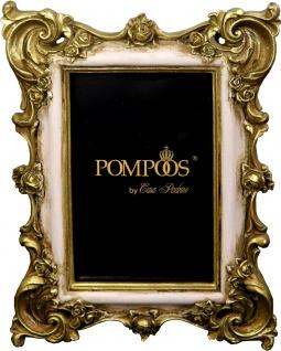 Pompöös by Casa Padrino Barock Bilderrahmen Altrose / Gold von Harald Glööckler 23 x 17.5 cm - Antik Stil Foto Rahmen