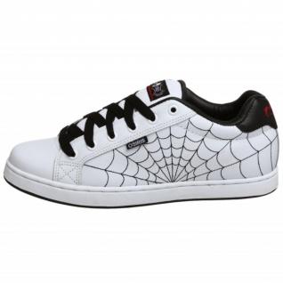 Osiris Skateboard Schuhe Troma II Kids White/Black/Red/Webs